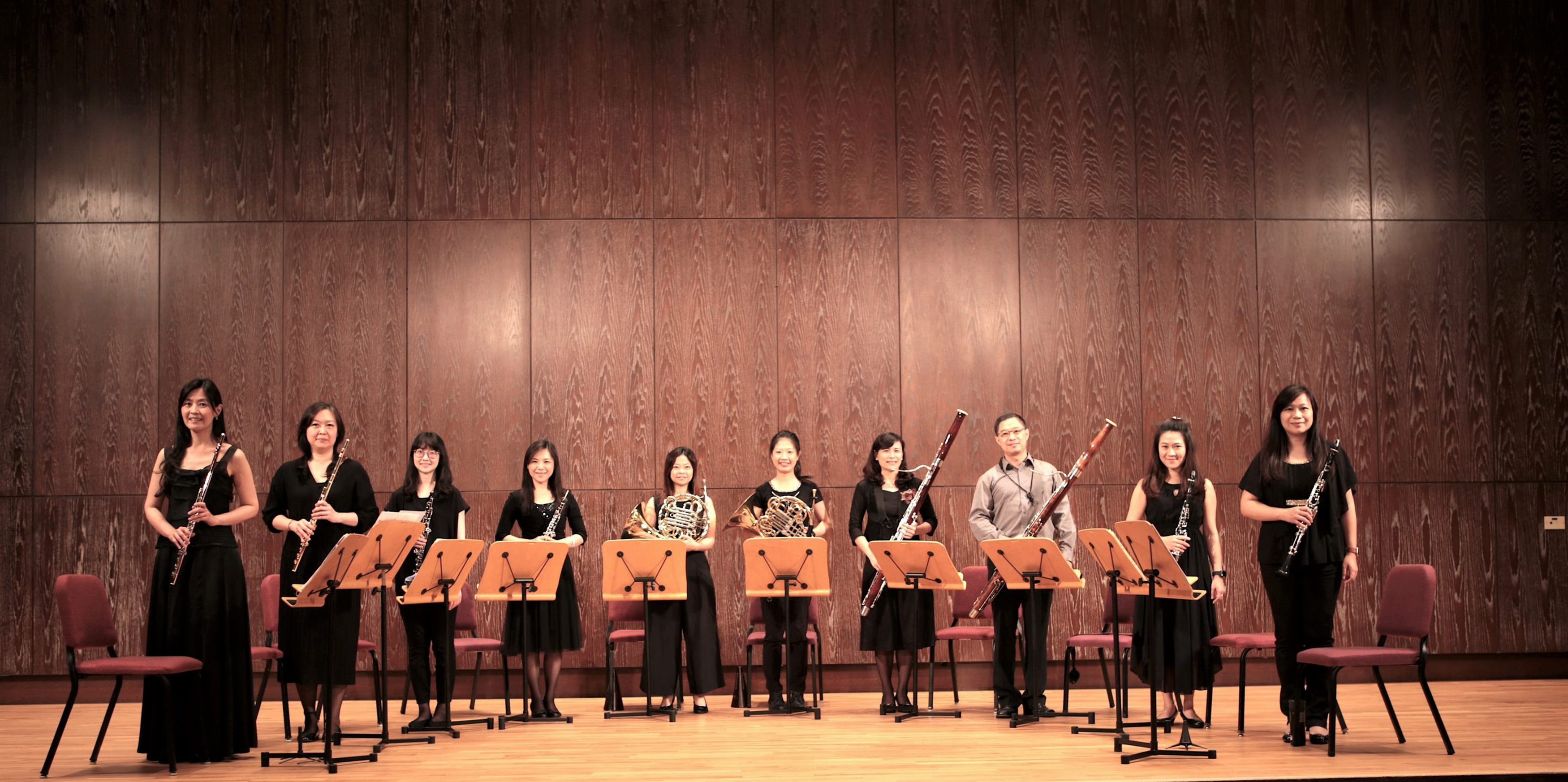 《室內風華》臺灣管樂團2021年大型室內樂木管十重奏